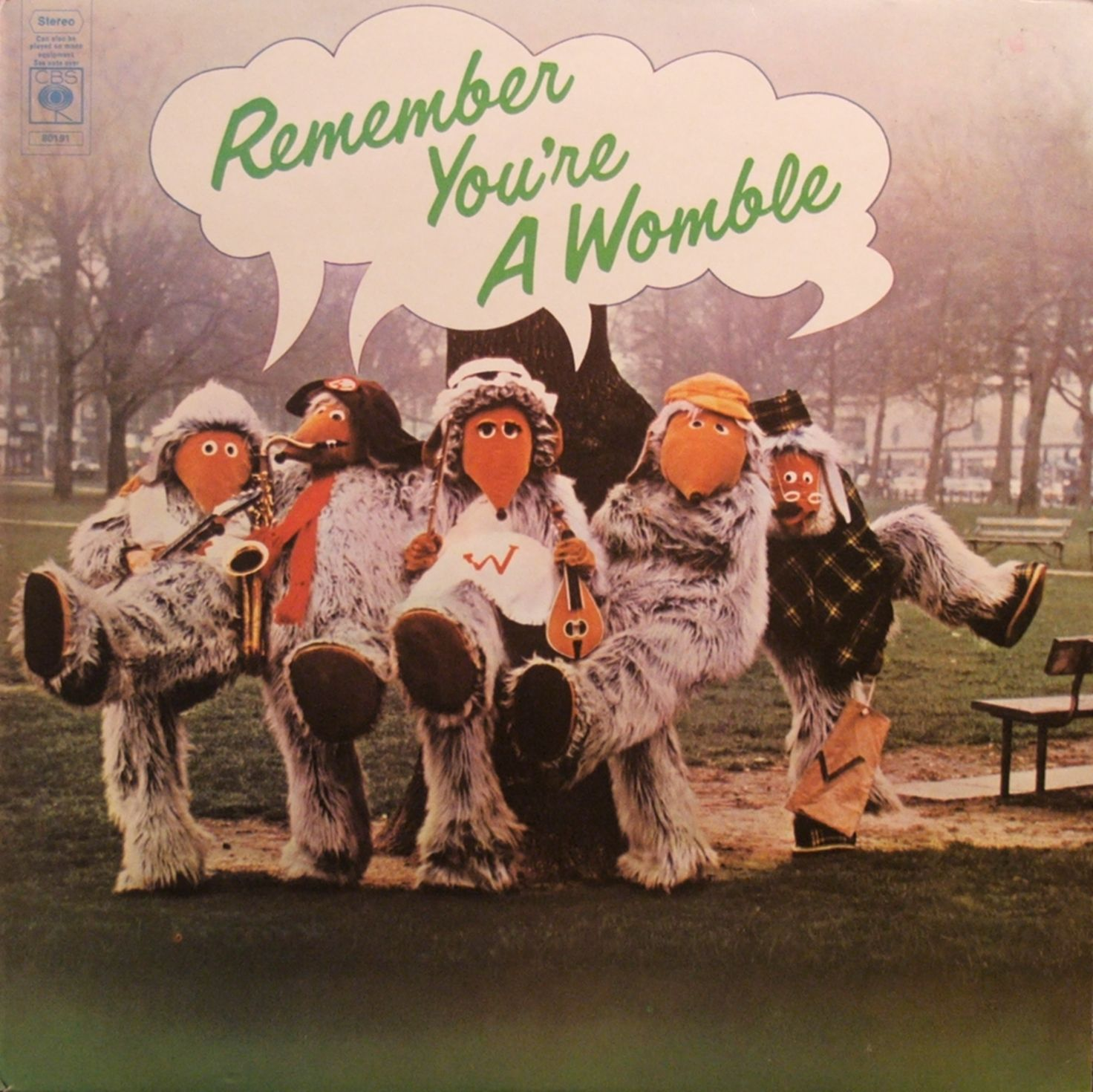 The Wombles. Went to see them play in Yate and got picked up by Orinoco. Joy!