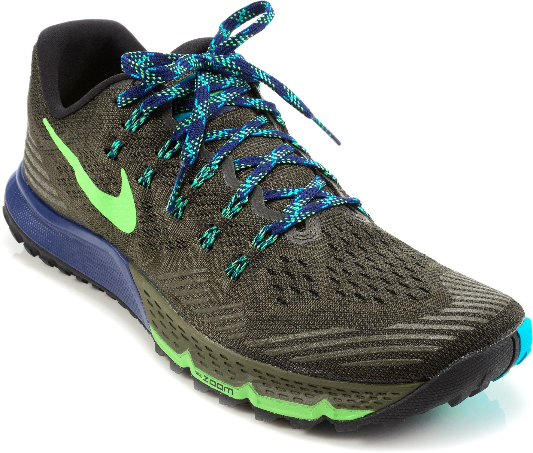 Nike Male Air Zoom Terra Kiger 3 Trail-Running Shoes - Men's