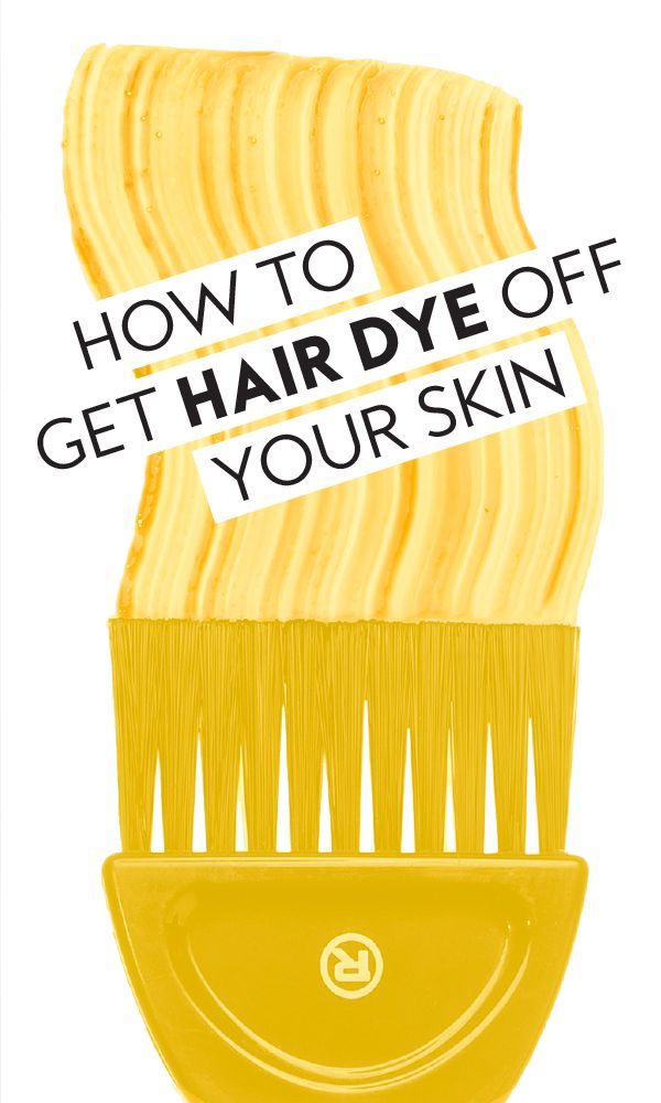 How To Get Hair Dye Off Your Skin With Images Hair Dye Removal Dyed Hair Natural Hair Care Tips