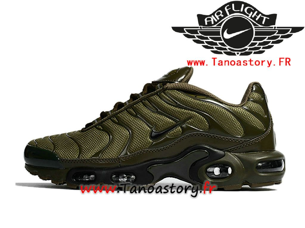really comfortable reasonably priced great look Chaussures Homme Nike Air Max Plus Tuned 1 Prix Pas Cher Vert Noir ...
