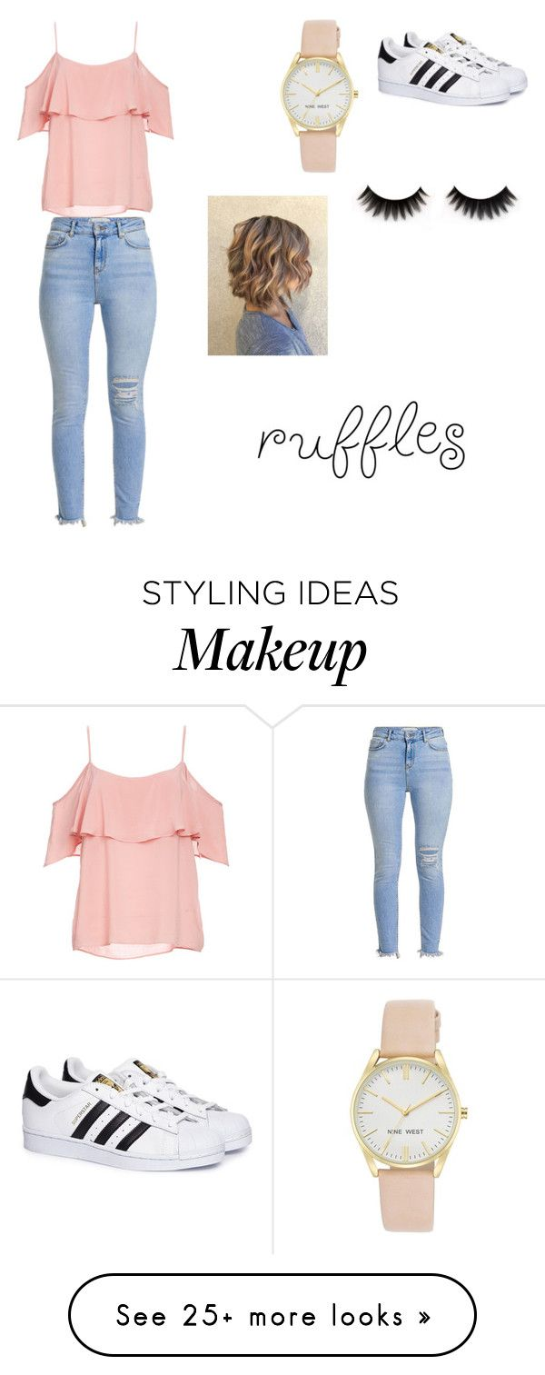 """""""Untitled #323"""" by myarv on Polyvore featuring BB Dakota, adidas and Nine West"""