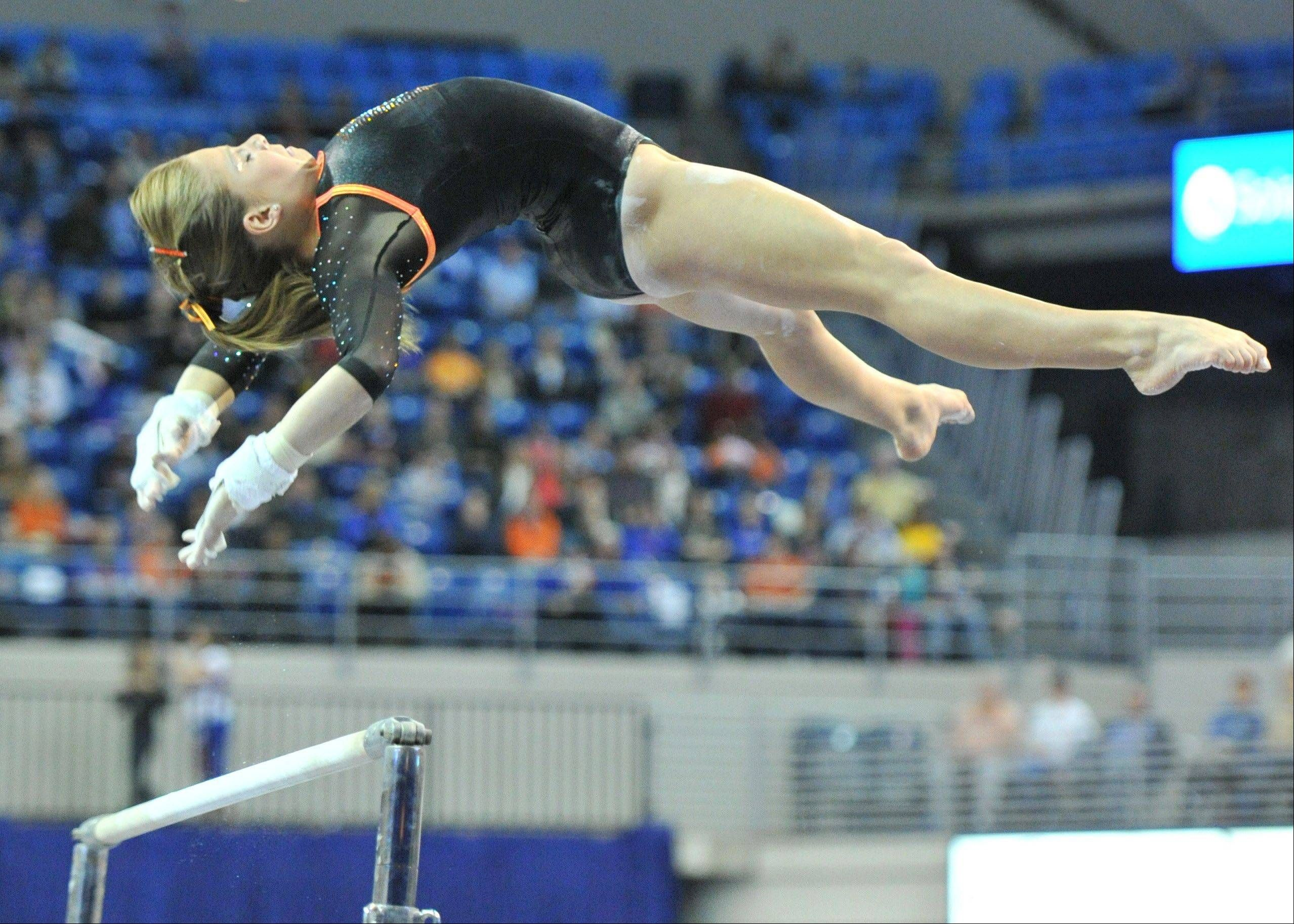 Naperville Sisters Among Gymnastics Elite With Images Olympic Gymnastics Sport Gymnastics All About Gymnastics