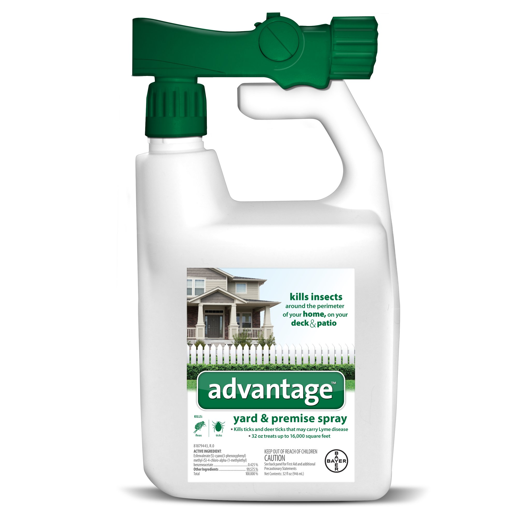 Advantage Yard & Premise Spray, 32 fl. oz., 32 FZ Flea