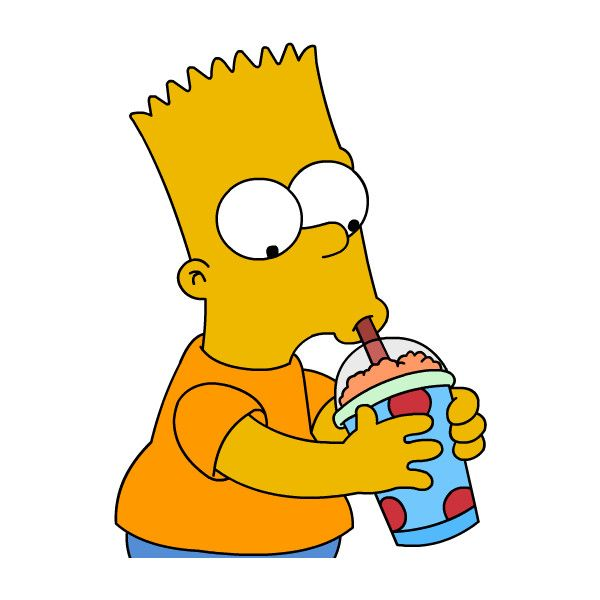 Bart Simpson Pictures Liked On Polyvore Featuring Fillers Emojis Transparent Tumblr Simpsons And Backgrounds Bart Simpson Pictures Bart Simpson Bart