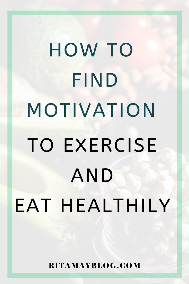 I lost motivation to exercise and eat healthy for a month. In this post, I show you how I found moti...