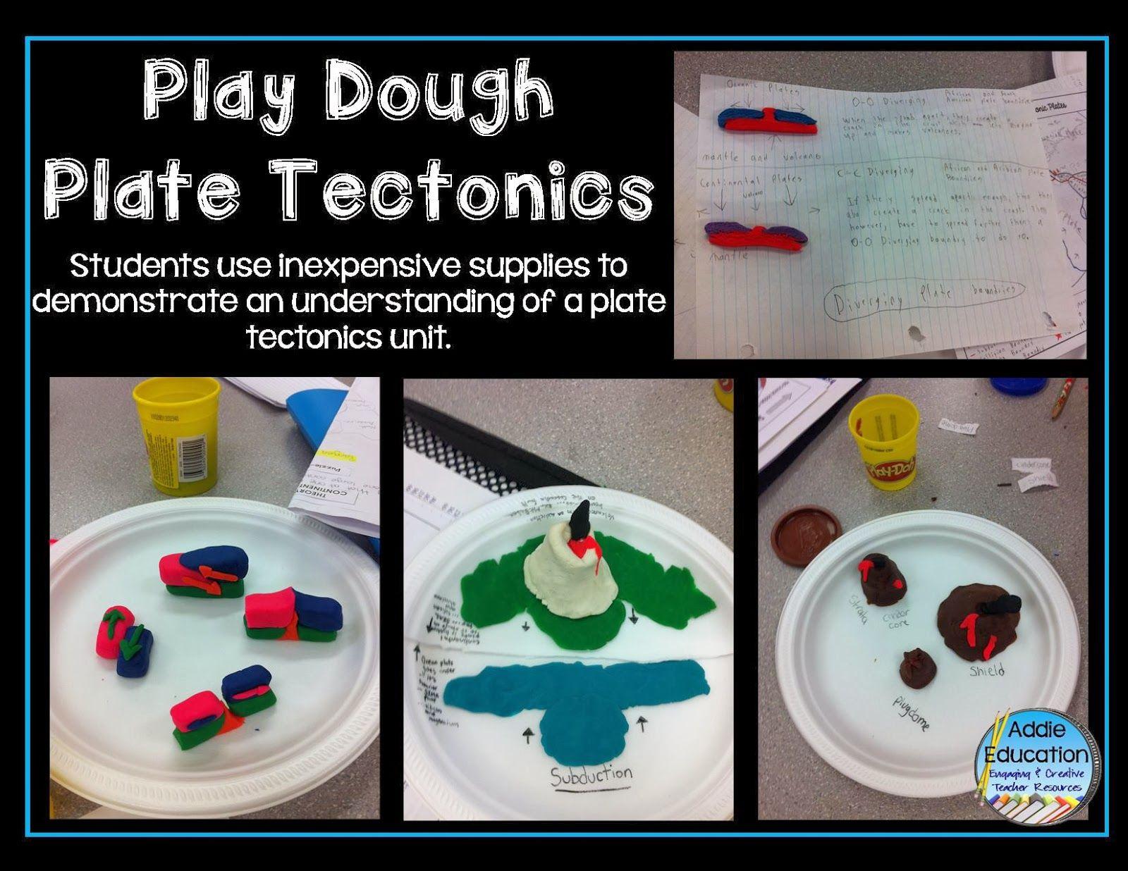 Plate Tectonics With Play Dough