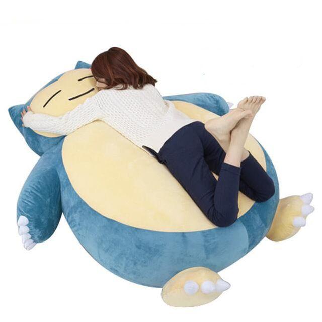 Tremendous 150Cm Big Size Pokemon Plush Toys Large Anime Snorlax Pabps2019 Chair Design Images Pabps2019Com