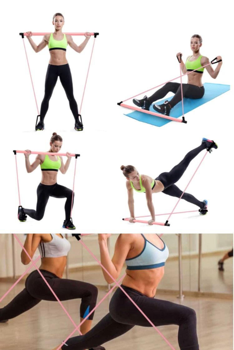 Home Fitness - Pilates Exercise Stick