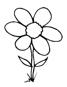 999+ Flower Clipart Black And White [Free Download | Flower ...