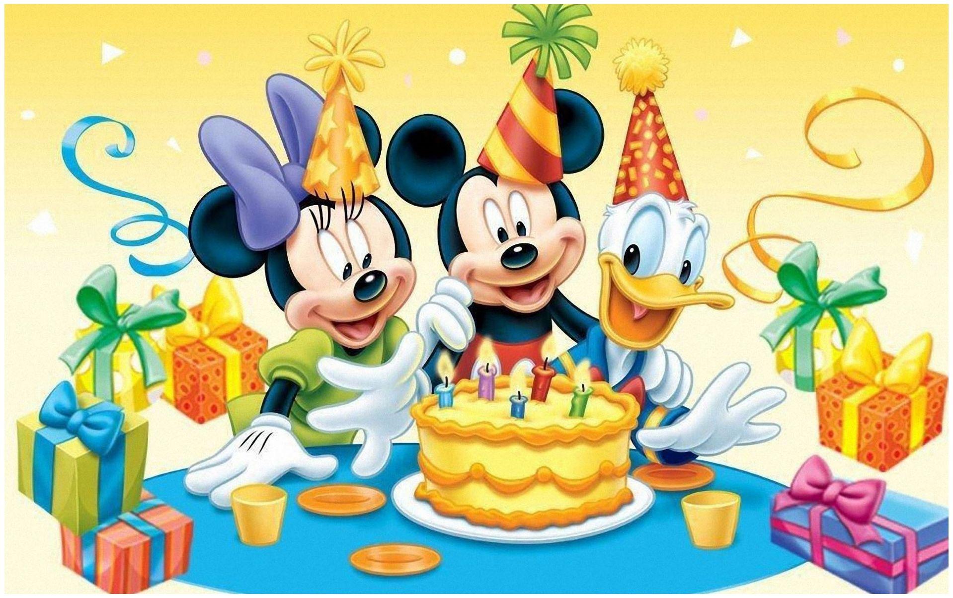 Free Gambar Backgrounds Mickey Mouse Hd Kartu Ulang Tahun Ulang