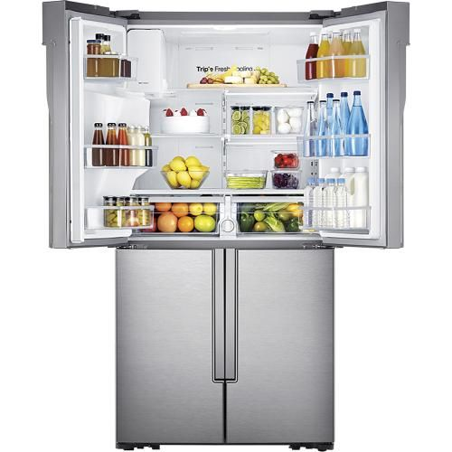 Ft 4 Door French Refrigerator With Convertible Zone