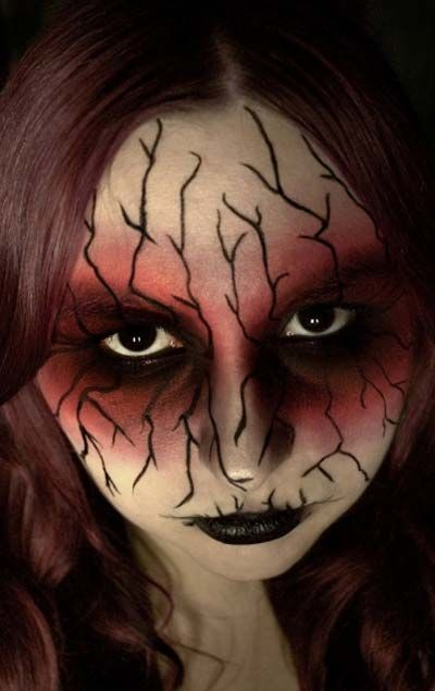 Halloween Horror Makeup Looks makeup Pinterest Halloween - halloween horror makeup ideas