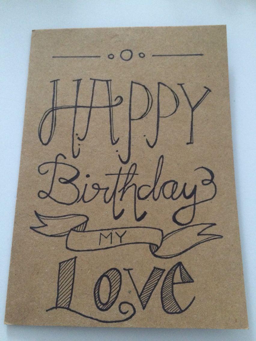 Happy Birthday Card For My Boyfriend Japanese Gifts Diy