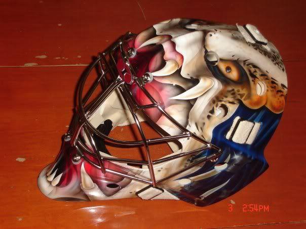 The Predator Goalie Mask Goalie Mask Goalie Hockey Mask