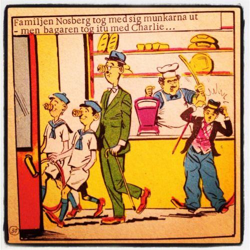 Hur man enklast transporterar flottyrmunkar. – Charlie #4 1973