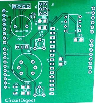 Smoke Detector Arduino Shield PCB | PCB Designs | Arduino, Arduino