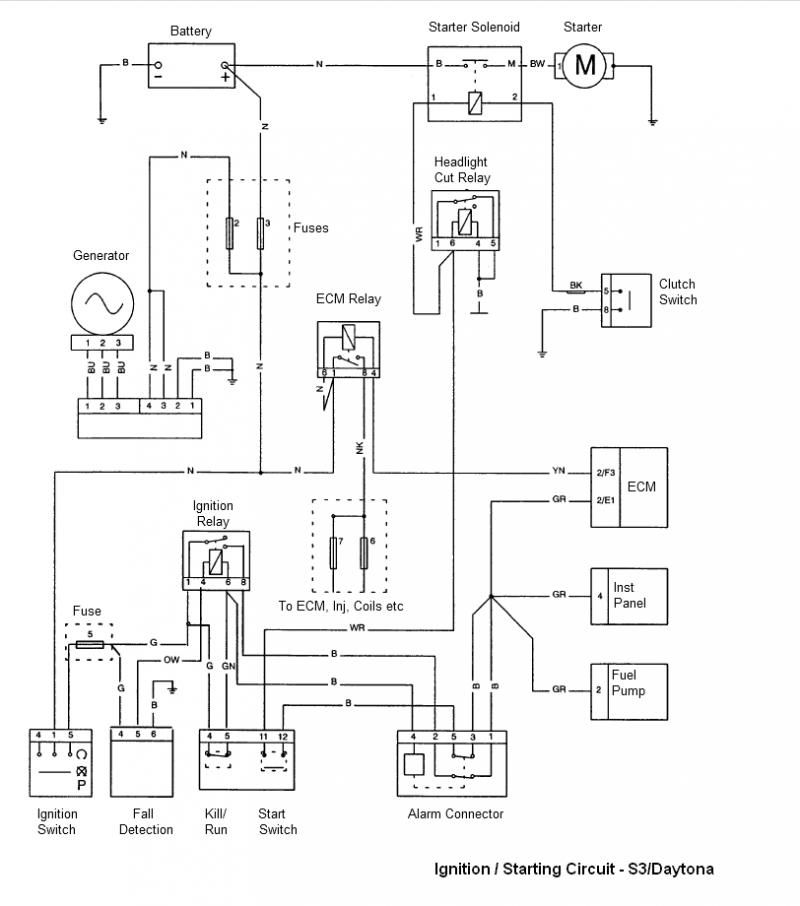 2009 Triumph Bonneville Wiring Diagram Three Phase Electrical Tiger - Diagrams Image Free Gmaili.net