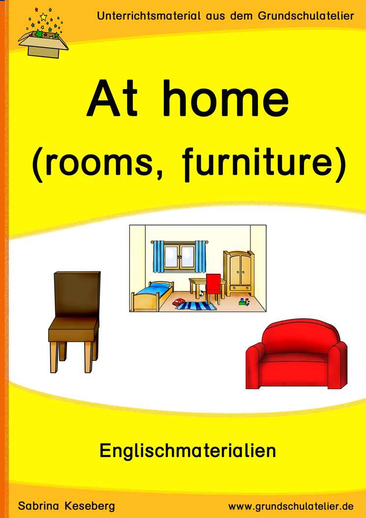 At Home Rooms And Furniture Raume Mobel Englisch Grundschule