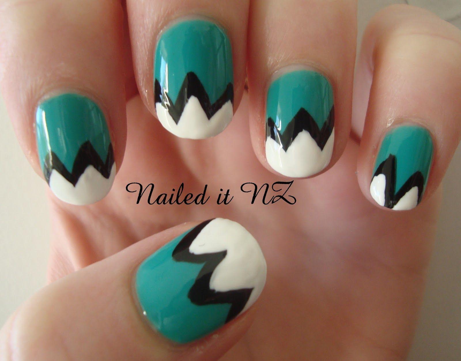 Attirant Nailed It NZ: Nail Art For Short Nails Mountain Nails