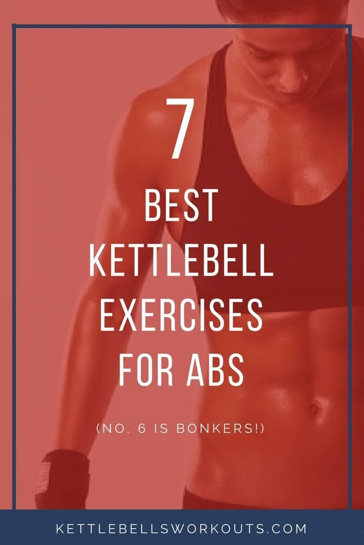 7 Best Kettlebell Exercises for Abs. Discover how to train using a kettlebell to directly impact you...