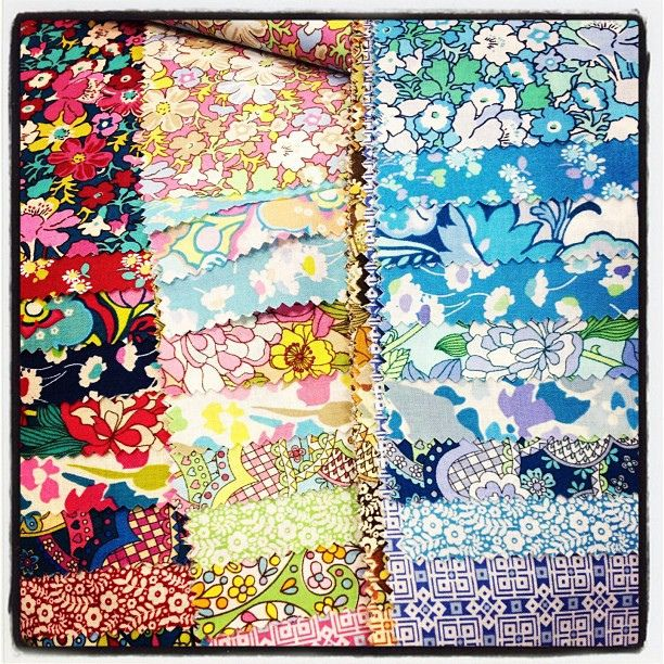 Liberty lifestyle fabrics. LOVE. by Erin - TwoMoreSeconds, via Flickr