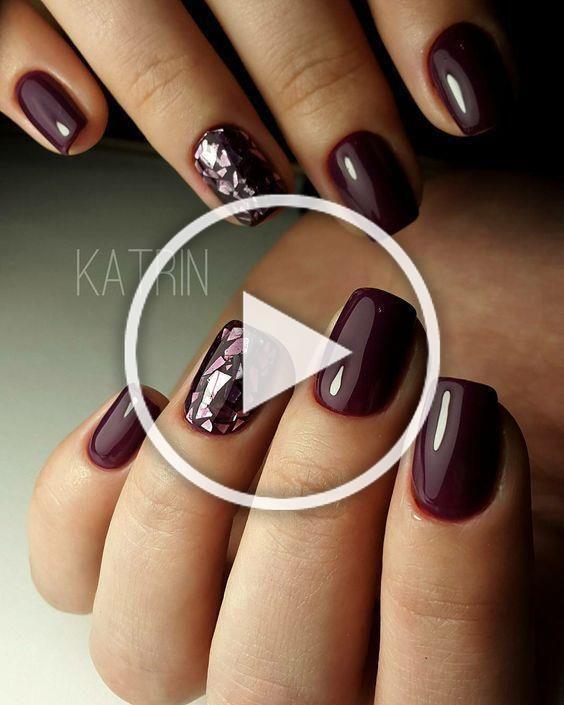 60 Sparkle Glitter Nails For 2019 - #glitter #nails #Sparkle