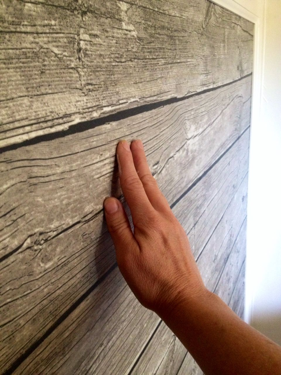 Not Actual Wood Weathered Wood Plastic Coated Fabric Ikea