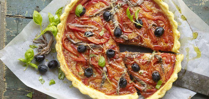 Pizza de puré