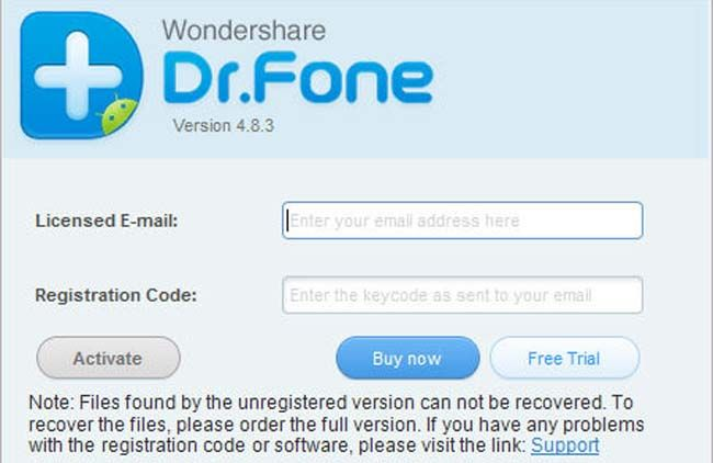 Wondershare Data Recovery Android Software With Images Data