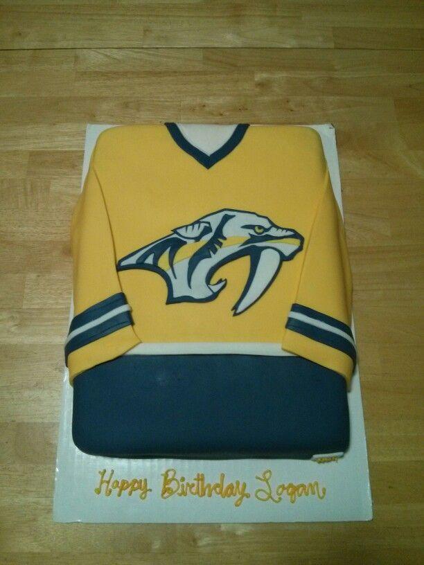Nashville Predators Hockey Cake Possible Grooms