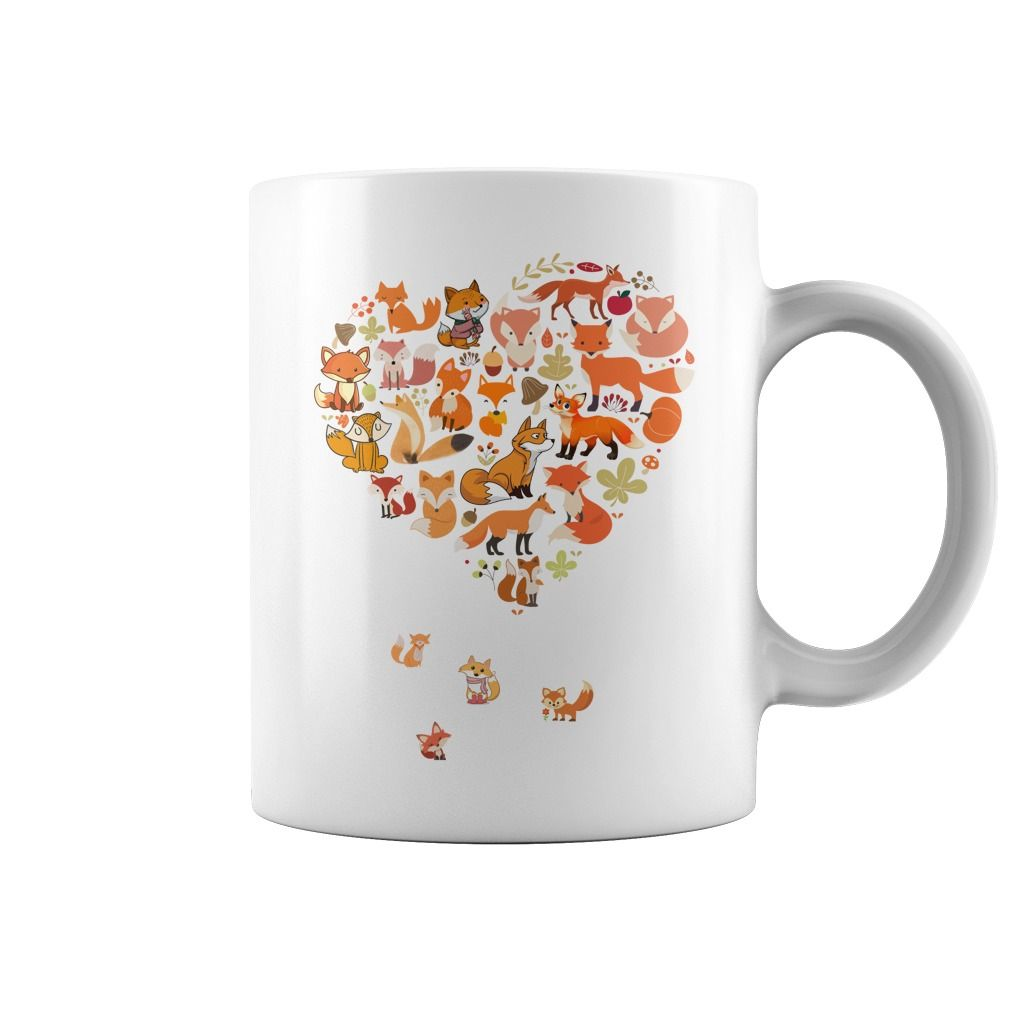 Zoo Portraits Calendar 2018 animal Heart Fox Coffee Mug ...