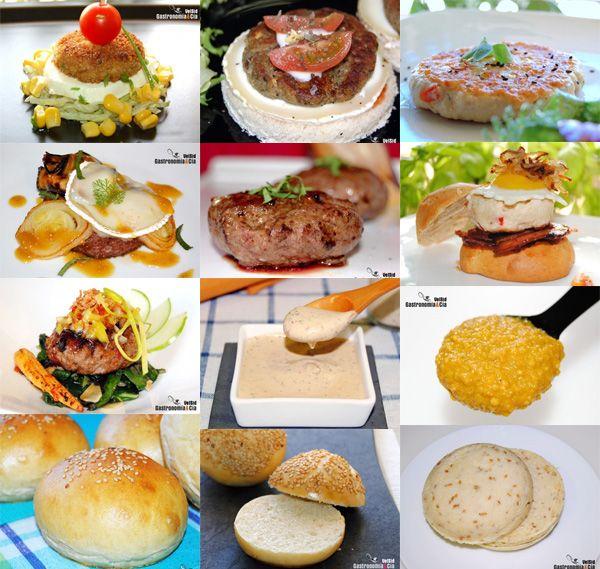 Doce recetas para hamburguesas caseras