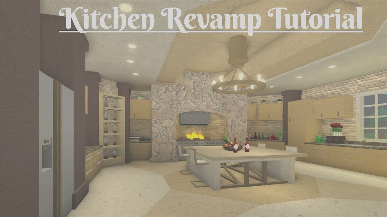 10 Gorgeous Kitchen Ideas Bloxburg Gallery In 2020 House Design