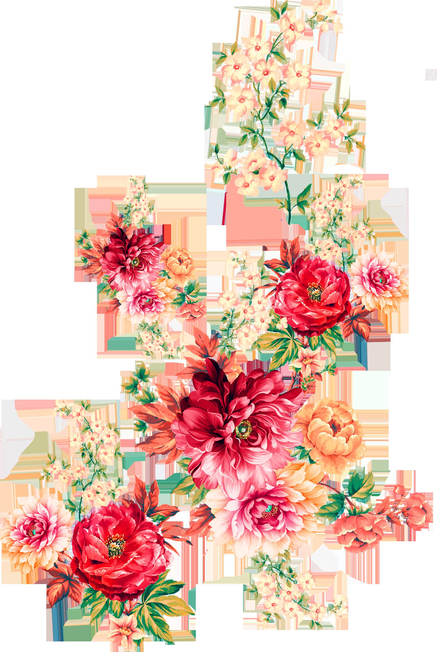Digital Flower 000000218 In 2021 Digital Flowers Flower Drawing Flower Png Images