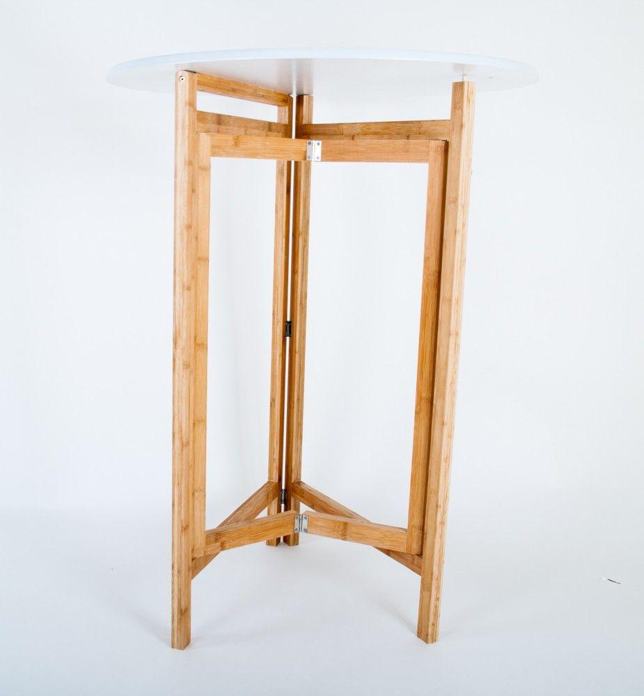 Bambus Biertisch Klappbar Klapptisch Stehtisch Bistrotisch Bild 3 Stehtisch Biertisch Bistrotisch