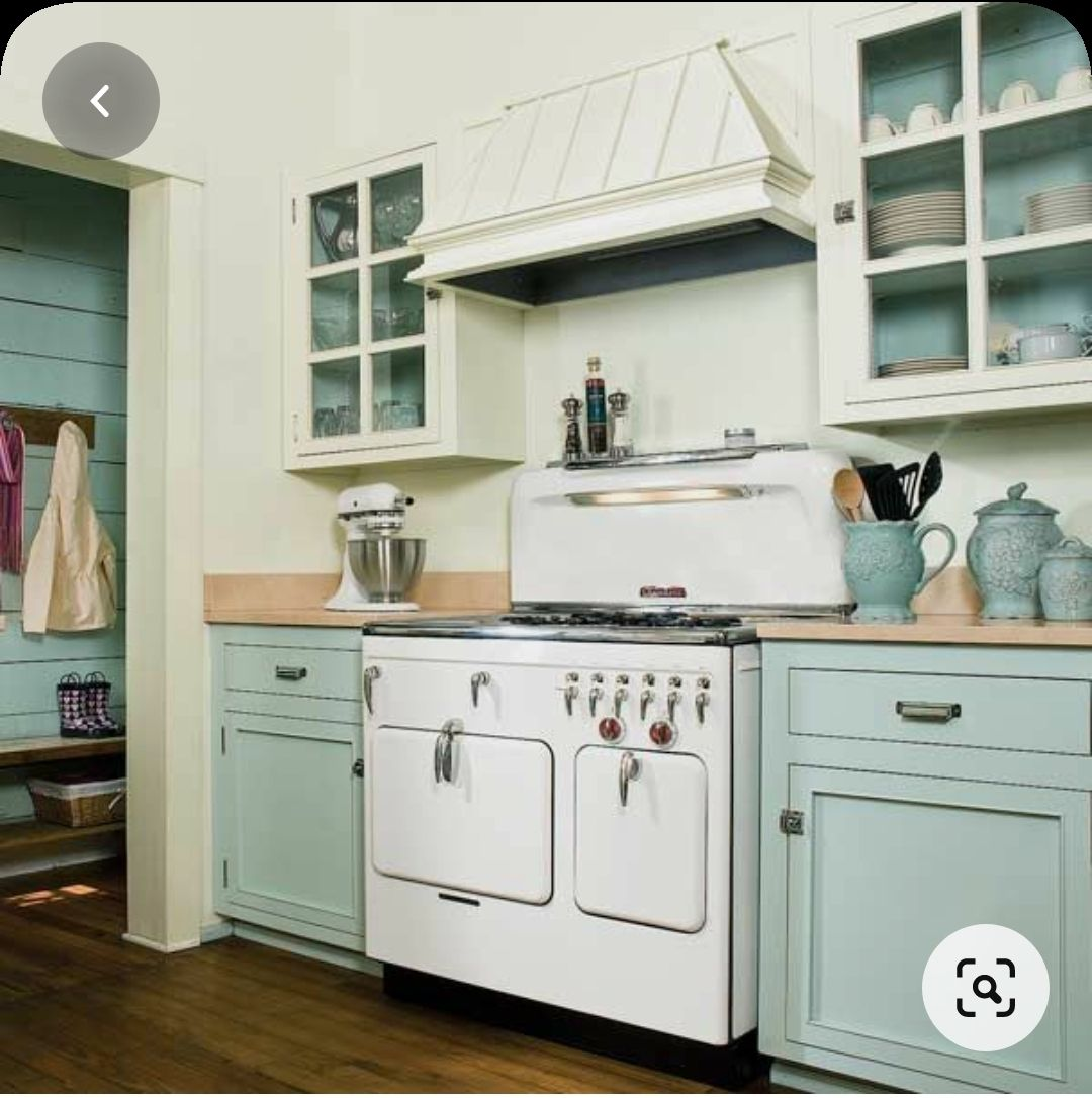 Pin On Blue Green Cabinet Kitchen