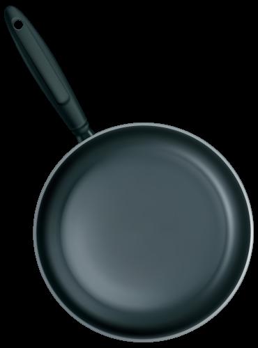Black Frying Pan Png Clipart Clip Art Pan Polar Bear Cartoon