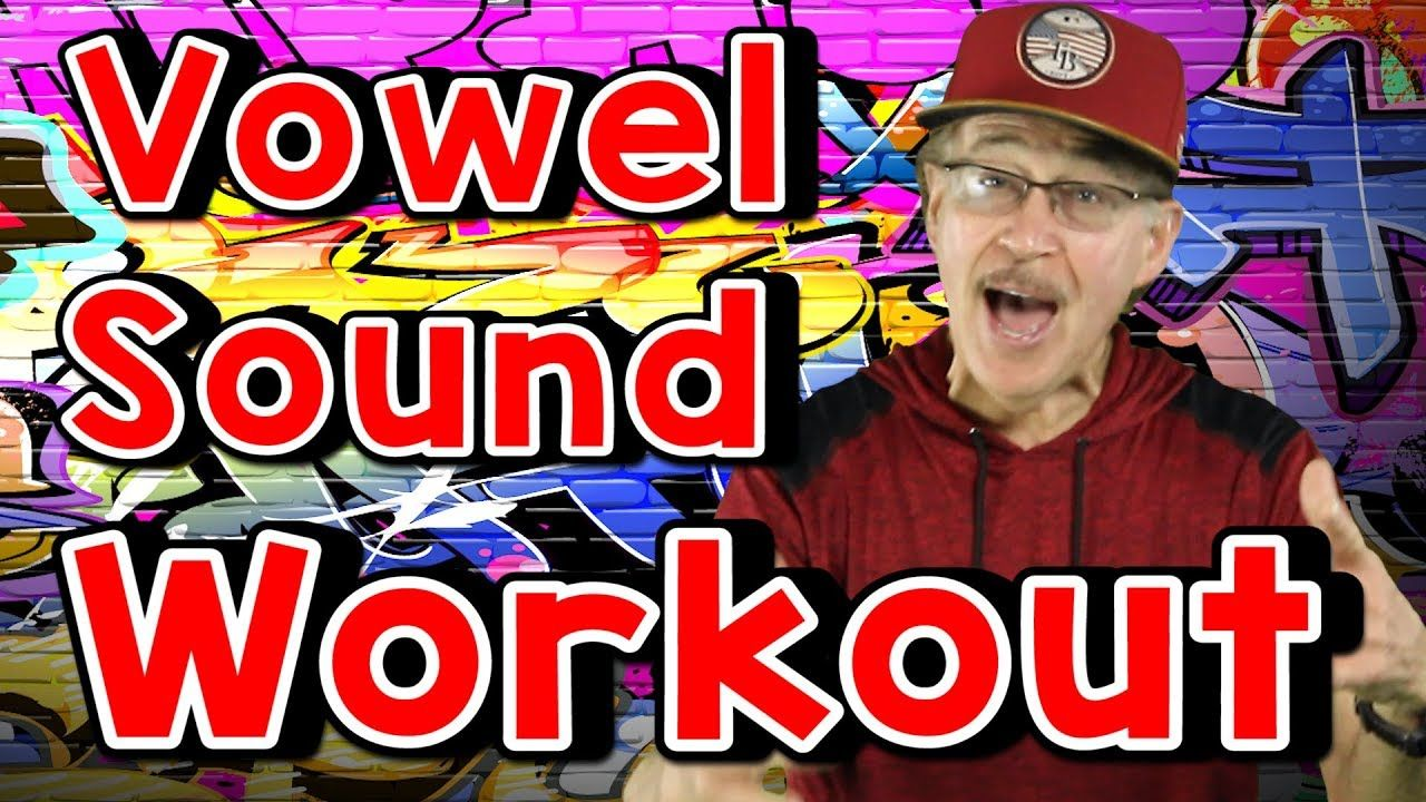 Vowel Sound Workout Phonics Song for Kids Exercise and