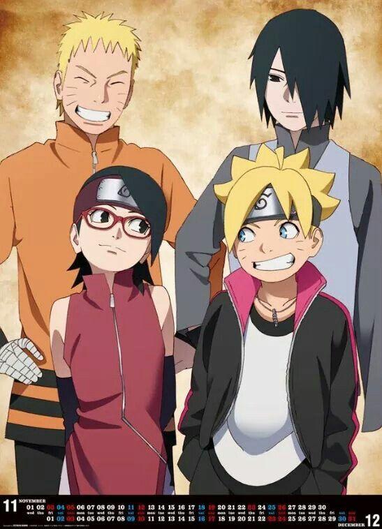 Naruto Sasuke Sarada And Boruto With Images Boruto