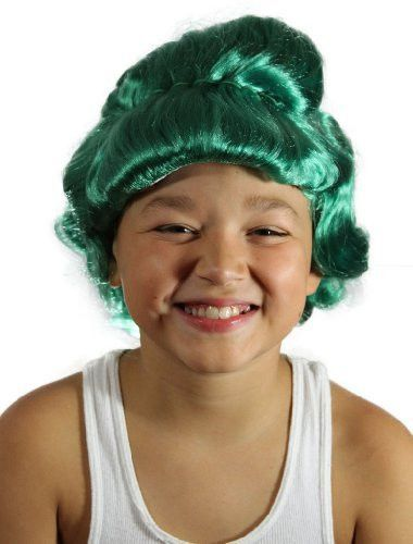 My Costume Wigs Boy s Oompa Loompa Wig (Green) One Size fits all ... f4c517c7312c