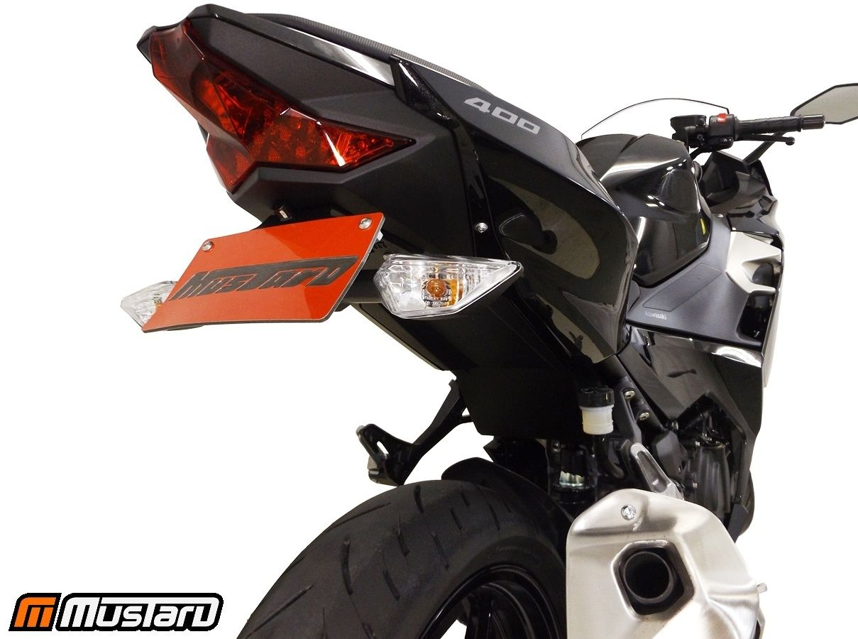 Kawasaki Ninja 400 2018 Fender Eliminator Tail Tidy