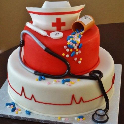 birthday cake for labor delivery nurses Google Search Cakes