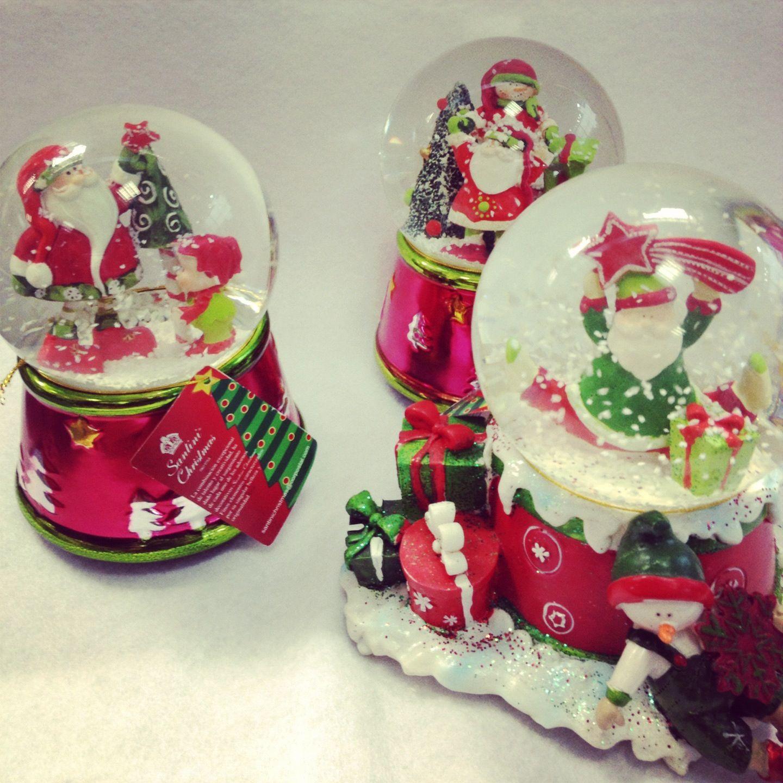 Música en esta navidad. Armoniza tu casa con bolas de cristal musicales.