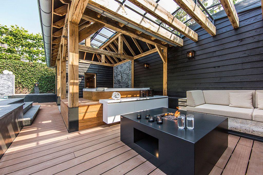 Dream Backyard Garden With Amazing Glass Swimming Pool