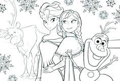 printable frozen coloring pages ideas for kids activities  free coloring sheets  disney