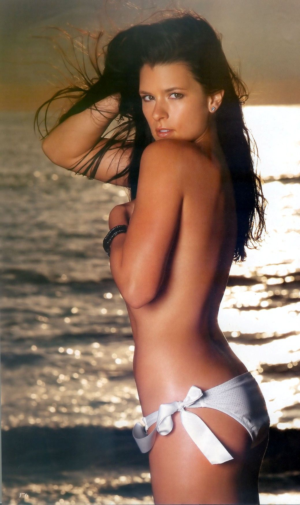 Danica patrick bikini photo shoot