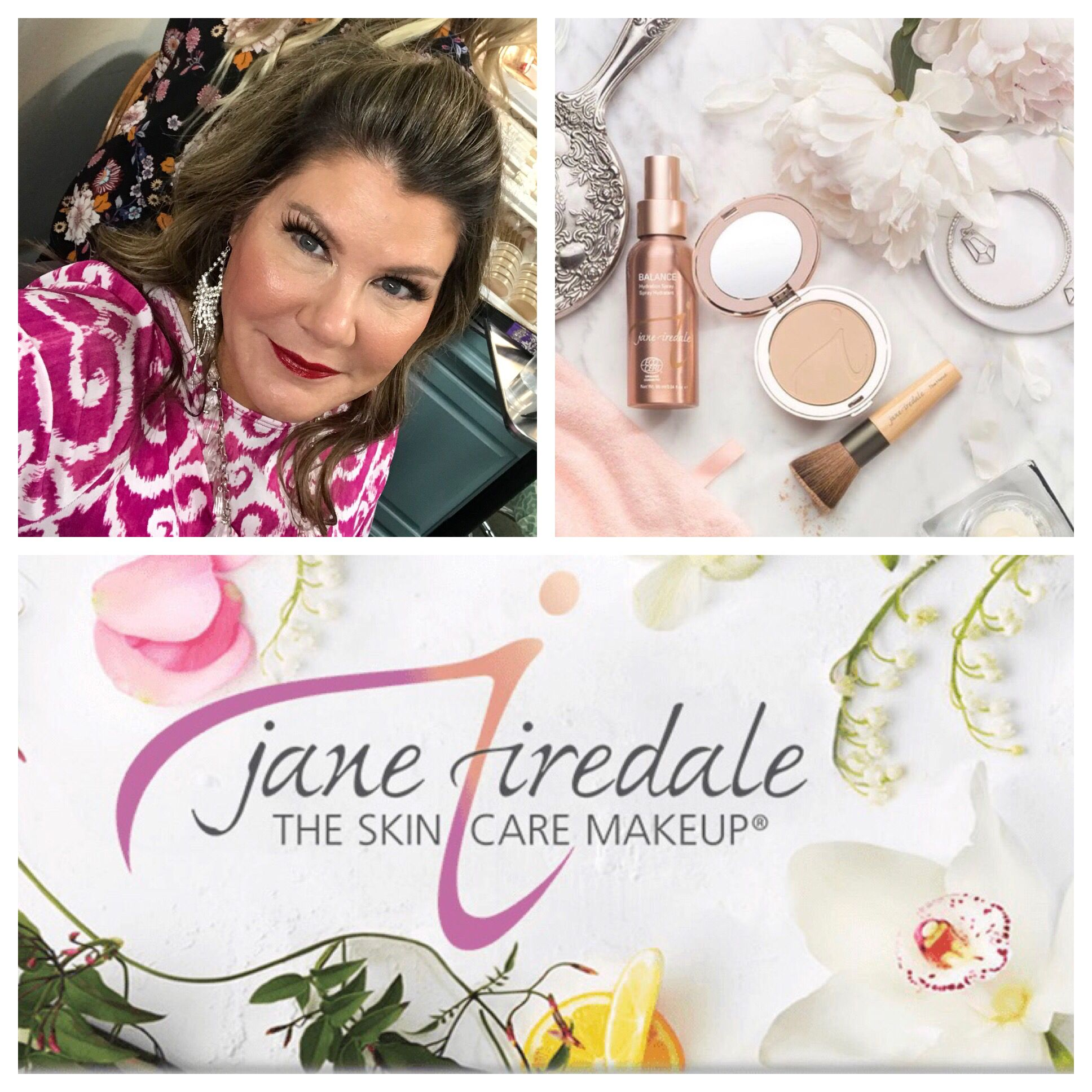 We love our JaneIredale mineral makeup! Foundation,