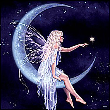 Feed Pictures Crescent Moon Fairy Wallpaper Crescent Moon Fairy Fairy Wallpaper Moon Fairy Fairy Illustration