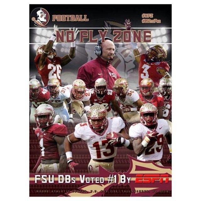 Fsu Db S Voted 1 By Espn Fsu Football Florida State Football Fsu