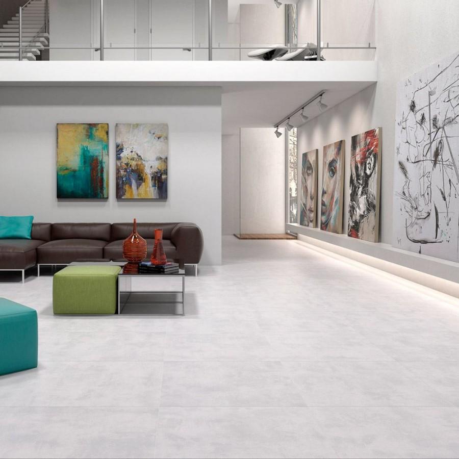 Cemento Light Grey In 2020 Grey Floor Tiles Tile Floor Li